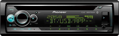 PIONEER DEH-S520BT AUTORÁDIO FEJEGYSÉG
